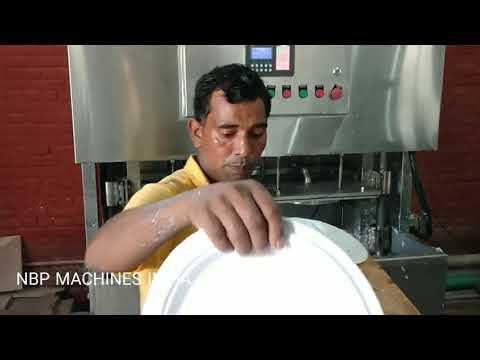 Sugarcane Bagasse Plates Making Machine 9873082795