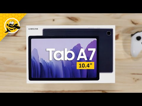"""Samsung Galaxy Tab A7 10.4"""" 2020 - Unboxing and First Impressions!"""