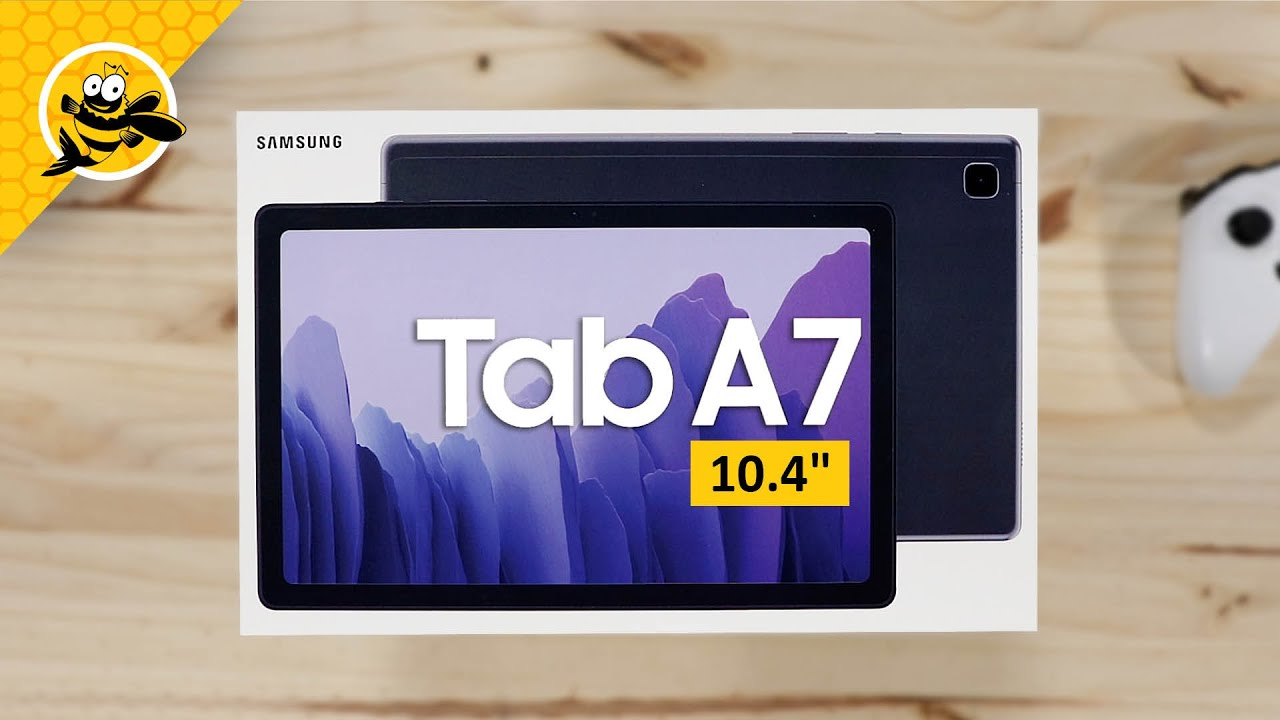 Samsung Galaxy Tab A7 10 4 2020 Unboxing And First Impressions Youtube