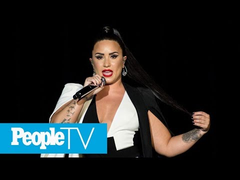 Demi Lovato Breaks Silence After Overdose And Hospitalization: 'I Will Keep Fighting'   PeopleTV