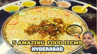best street foods in hyderabad