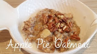 Apple Pie Oatmeal ( Slow Cooker )