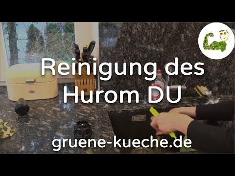 Hurom DU Slow Juicer - Reinigung und Zusammenbau (Teil 5/6)