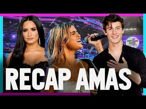 RECAP AMERICAN MUSIC AWARDS 2017