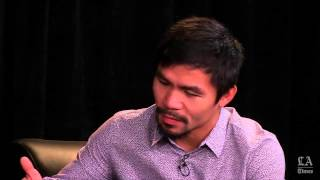 Pacquiao on punches, politics and philanthropy