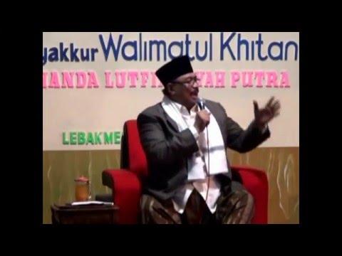 Prof Dr KH MANARUL HIDAYAT CERAMAH BAHASA SUNDA