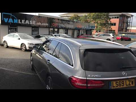 The MY19.5 Mercedes E Class AMG Diesel Estate in Review @CarLease UK - Lease car delivery