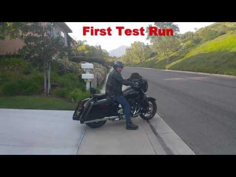 Download Harley Stock Exhaust Vs Magnaflow 4 5 Hitman Slip