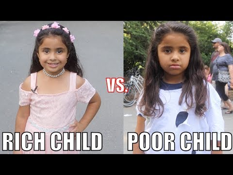 Thumbnail: Rich Child vs. Poor Child Experiment!!