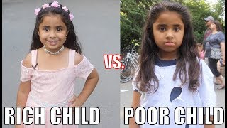 Rich Child vs. Poor Child Experiment!! thumbnail