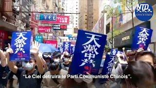 HK lutte contre la loi de sécurité nationale