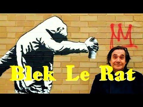 BANKSY Graffiti - Blek Le Rat | DIY Stencil Graffiti STREET Art