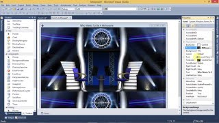 Vb.net creating Who wants to be a Millionaire Application Part 2 using Visual Studio 2010