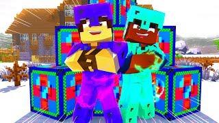 Minecraft: LABIRINTO PVP - A MELHOR LUCKY BLOCK!