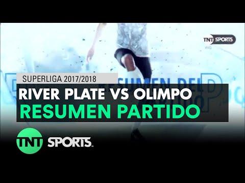 Resumen de River Plate vs Olimpo (2-0)   Fecha 14 - Superliga Argentina 2017/2018