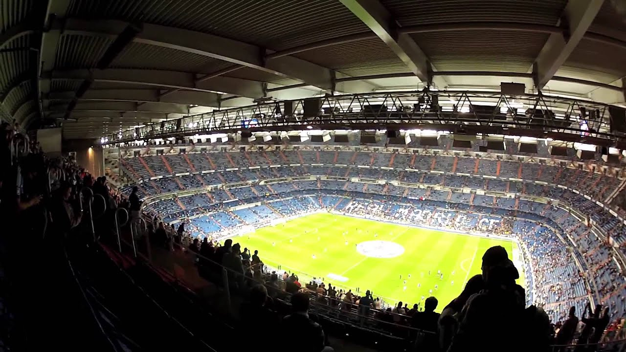 Our night at the santiago bernabeu for real madrid v for Puerta 4 santiago bernabeu