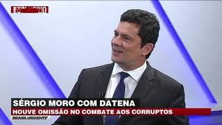 Datena entrevista Sergio Moro