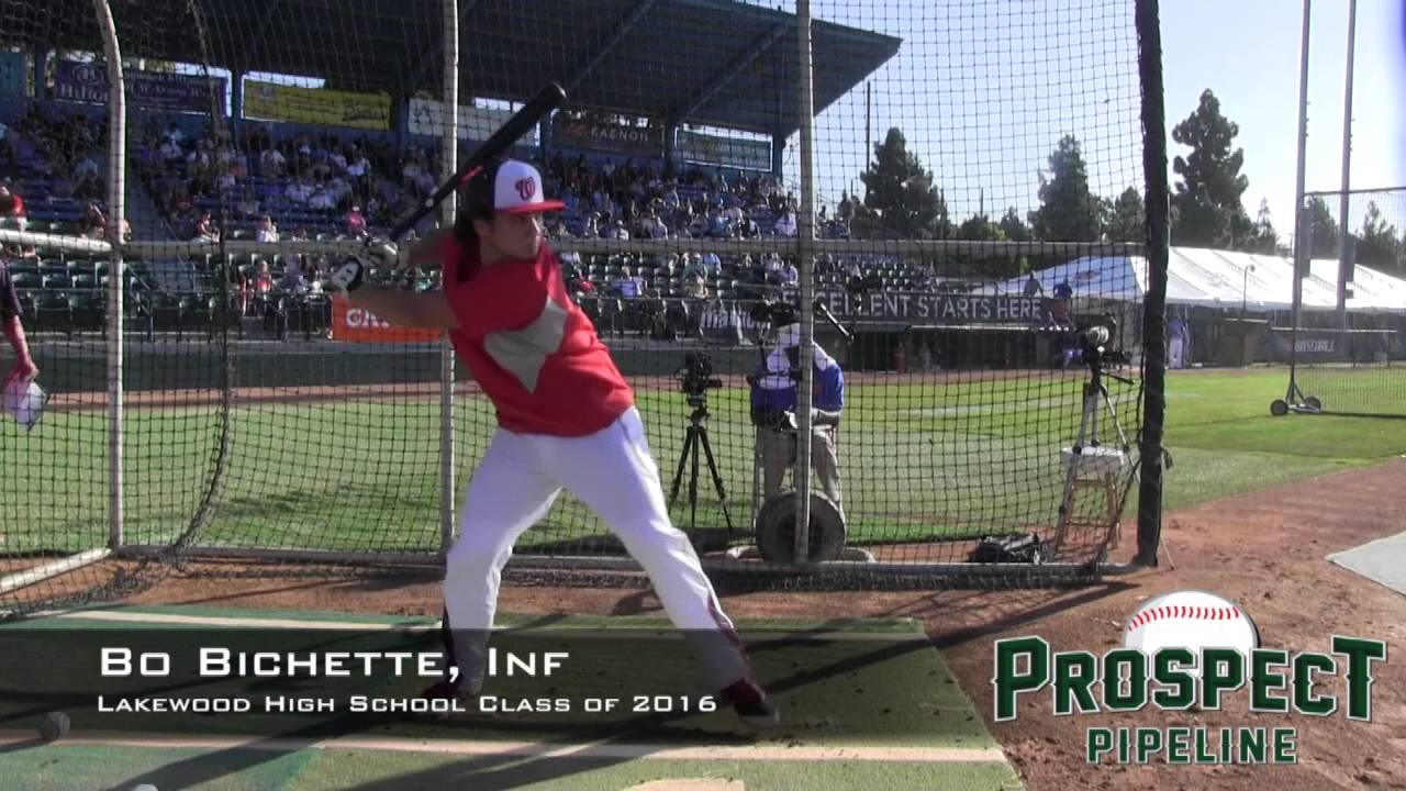 2dcdc6be8 Bo Bichette Prospect Video, Inf, Lakewood High School Class of 2016 ...