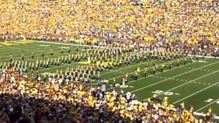 Parachute Landing at Michigan Stadium