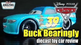 Disney Pixar Cars 3 Buck Bearingly diecast toy car review
