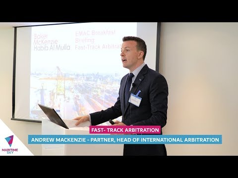 Fast Track Arbitration   Breakfast with EMAC