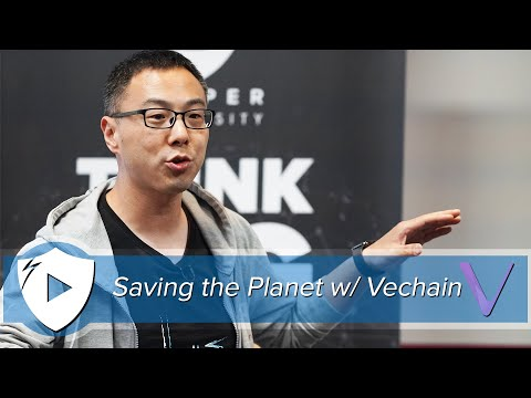 Saving the Planet with Vechain | Co-Founder & CEO Sunny Lu @ Draper University