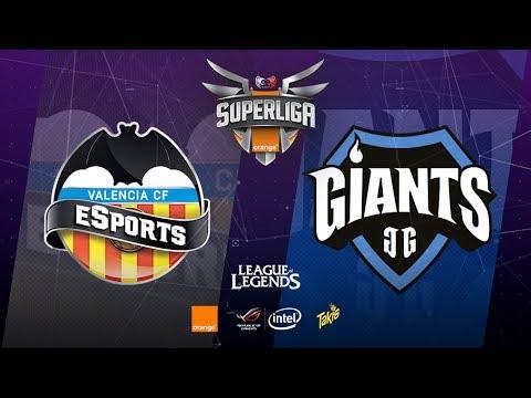 SUPERLIGA ORANGE-Valencia CF eSports vs Giants Only The Brave-Mapa 1-#SUPERLIGAORANGELOL14