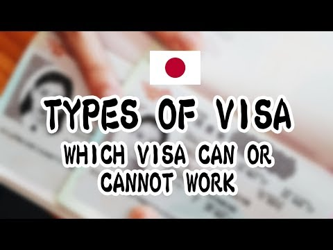 Types of Visa: Which Visa Can and  Cannot Work