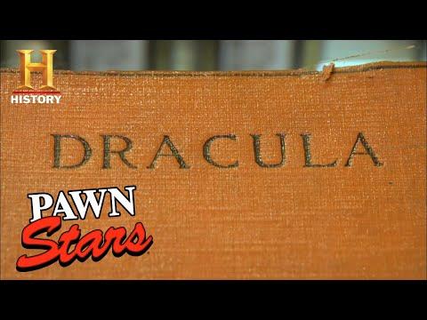 Pawn Stars: SHOCKING PRICE for Signed Dracula Novel (Season 4) | History