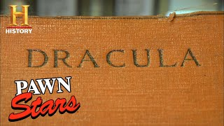 Pawn Stars: SHOCKING PRICE for Signed Dracula Novel (Season 4) | History