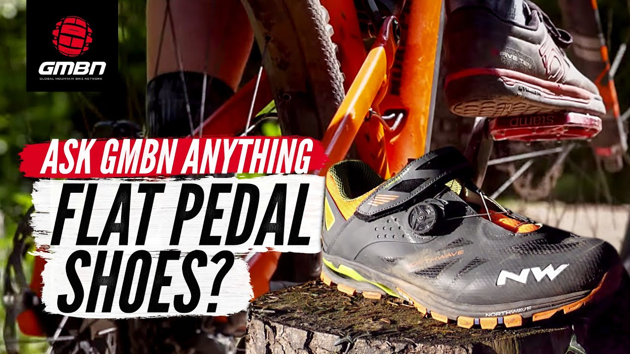 What Shoes Should I Use For Flat Pedals Ask Gmbn Anything About Mountain Biking Youtube