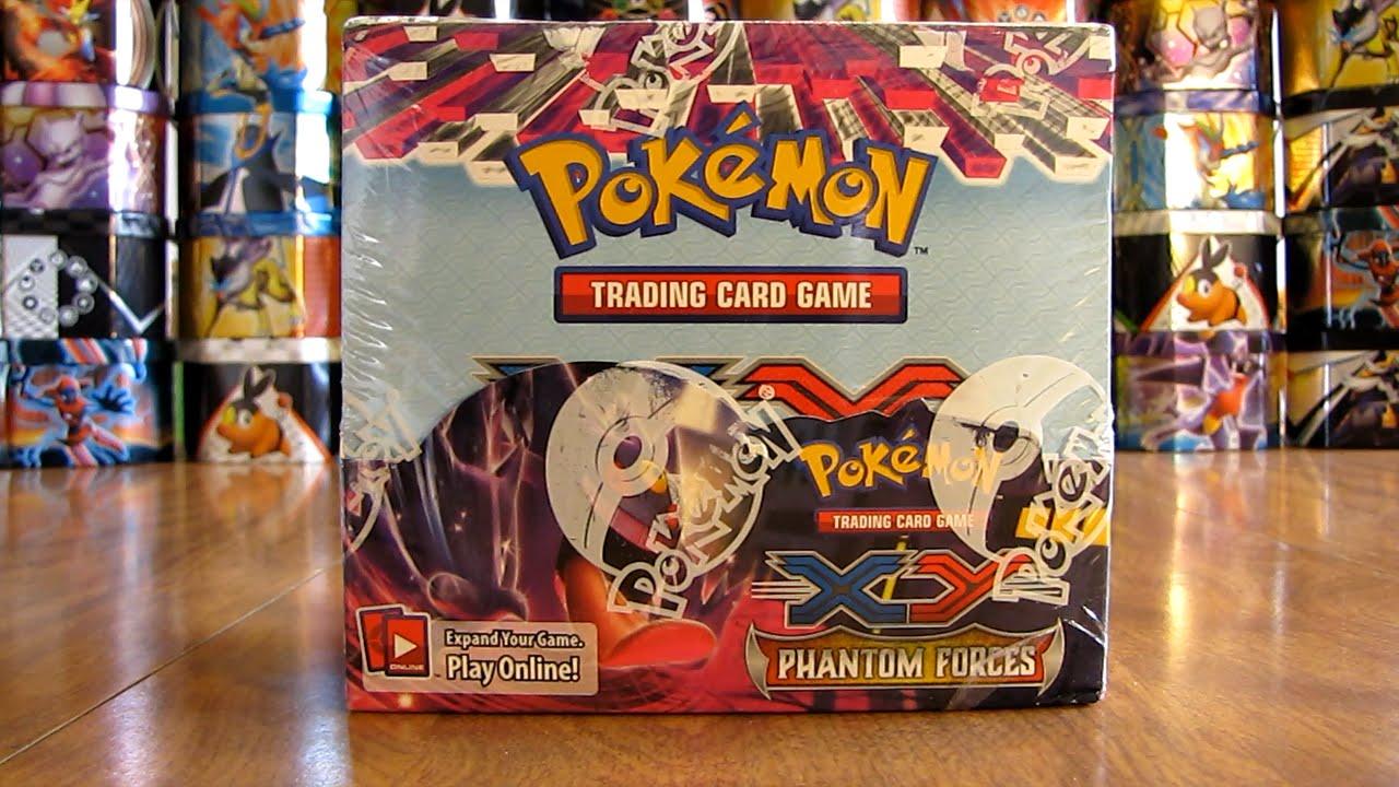 Pokemon phantom forces booster box opening pt 1 youtube