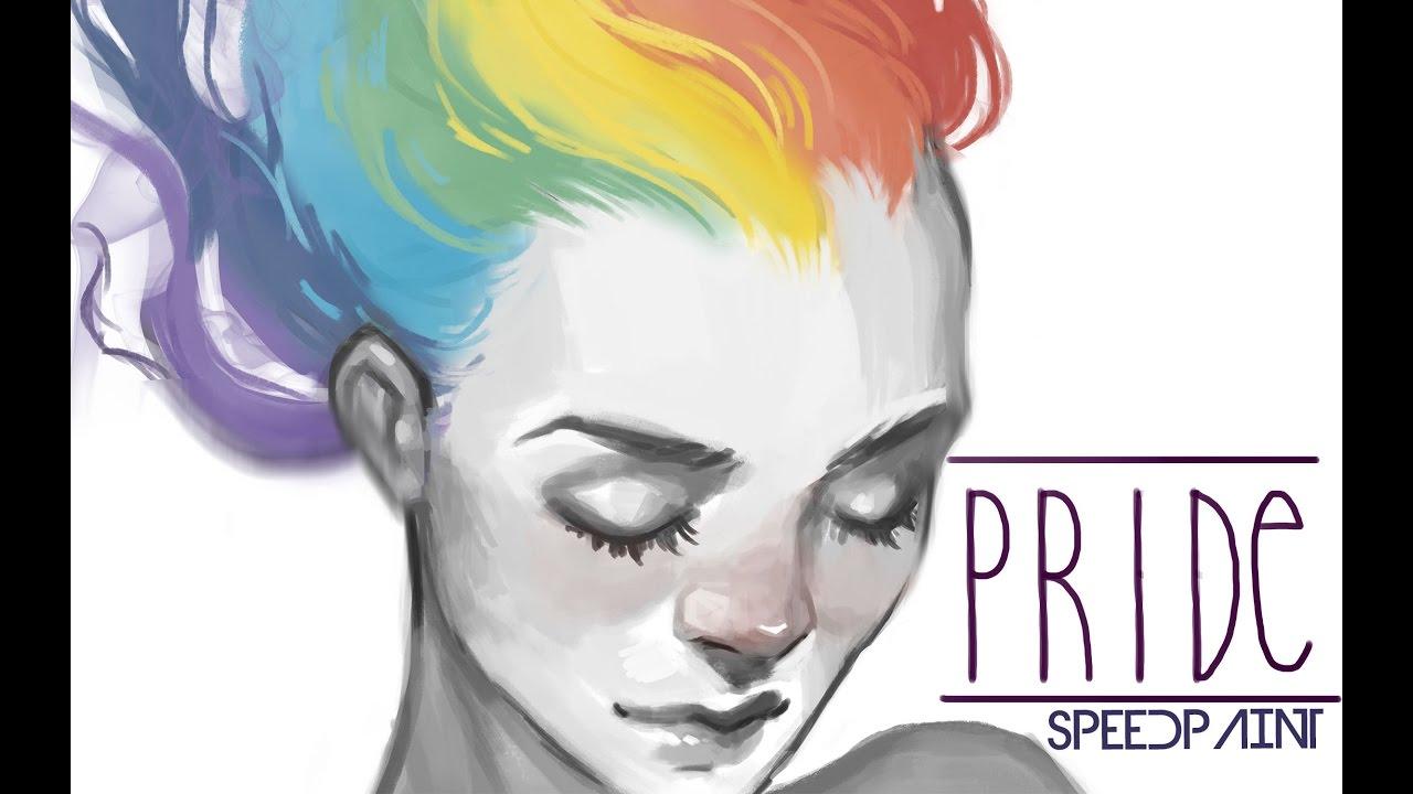 Rainbow People Drawings