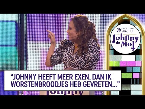Roast van Johnny de Mol – Patty Brard
