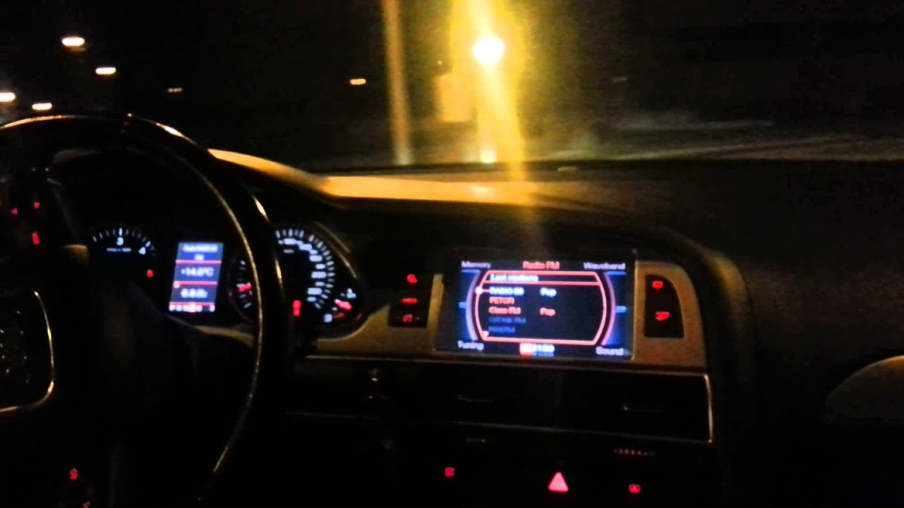 Audi A6 2006 Interior Night Www Indiepedia Org