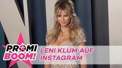 Schluss mit Versteckspiel: Heidi Klums Tochter Leni hat jetzt Instagram | Promiboom