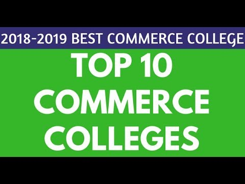 Top 10 B.COM Colleges in Delhi University | Top 10 Commerce Colleges in Delhi India