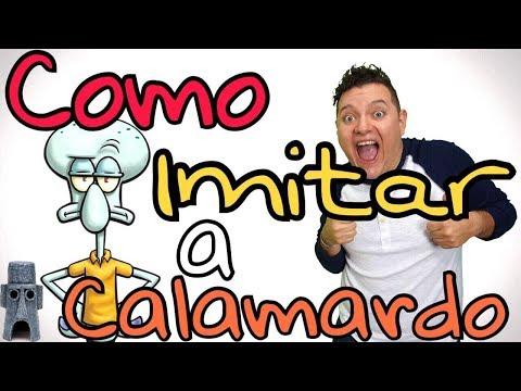 COMO IMITAR A CALAMARDO TENTÁCULOS