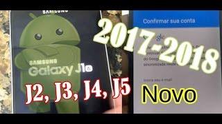 COMO REMOVER A CONTA GOOGLE SAMSUNG J1, J2, J3, J4, J5, J6, J7 (ATUALIZADO) 2017-2018