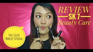 One Color Makeup Tutorial SK 7 Beauty Care