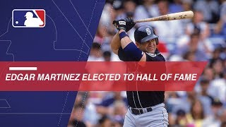 Edgar Martinez elected to HOF with 85.4% of votes