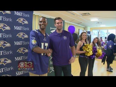 Joe Flacco & Ravens Surprise Baltimore City Elementary School Teacher