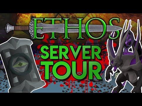 Ethos : RSPS Tour : Skotizo, Raids, Drop Tables, 20+ Bosses! ($150 GIVEAWAY)