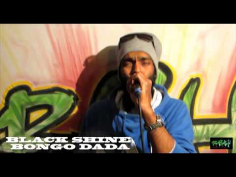 BLACK SHINE BONGO DADA  FREESTYLE - DA GREEN POWER SHOW by RBH SOUND 03.02.14
