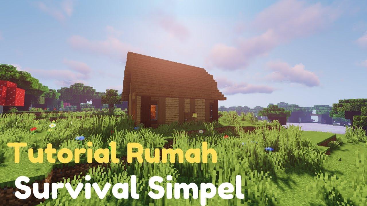 Tutorial Cara Membuat Rumah Minecraft Keren dan simple ...