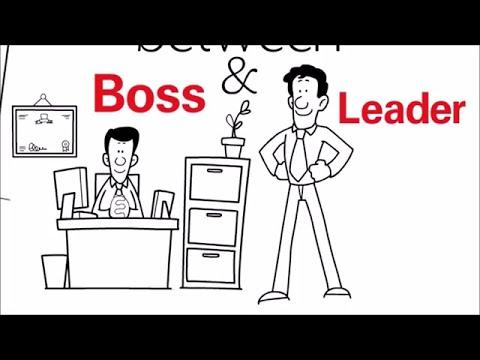 Lean Management - Boss vs Leader