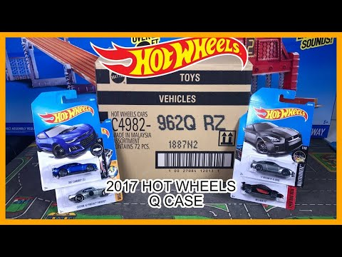 UNBOXING Hot Wheels 2017 Q Case 72 Cars !!!!