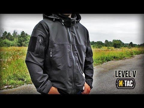 Тактическая куртка LEVEL V М-ТАС