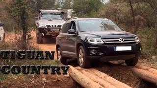 volkswagen tiguan 4motion extreme offroad