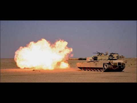 M1A1 Abrams Baptism by Fire In The Gulf War - M1A1 Tank Review
